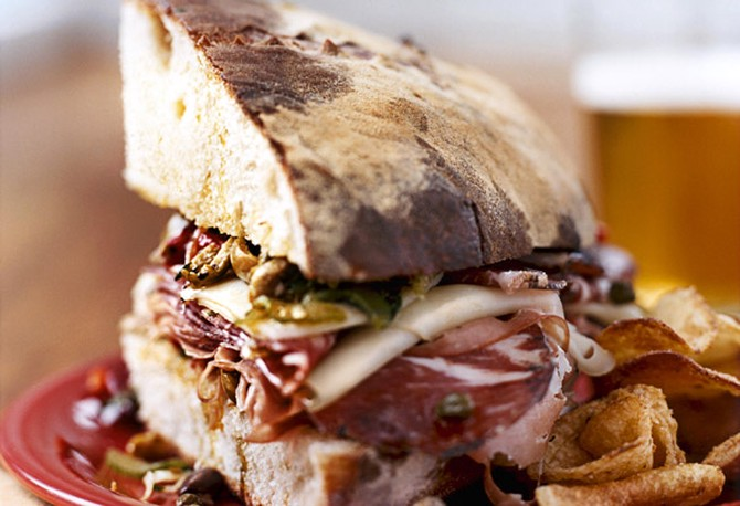 The Muffuletta Sandwich