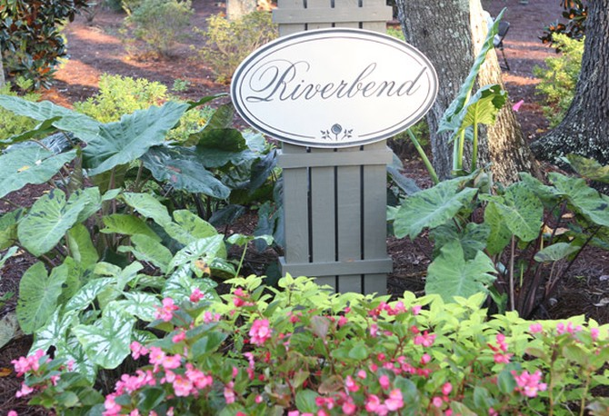 Riverbend sign