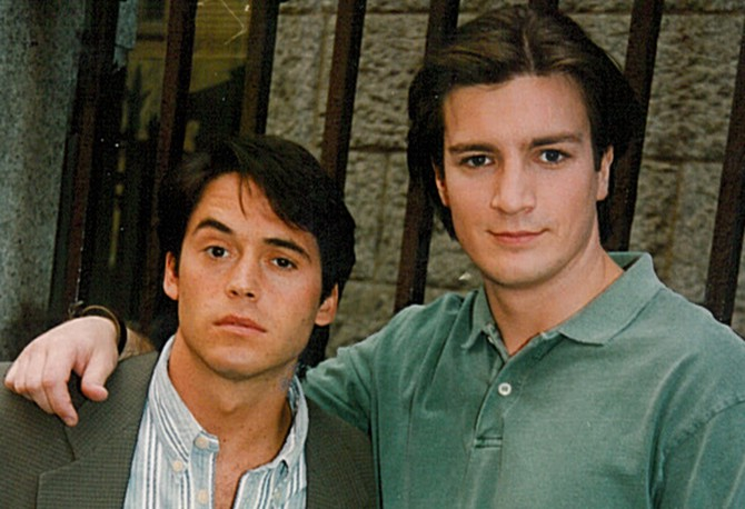 Kirk Geiger and Nathan Fillion