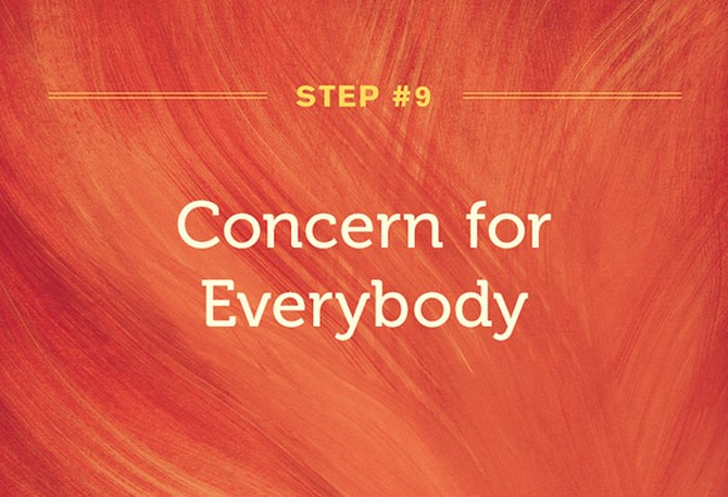 Karen Armstrong's ninth step to compassion