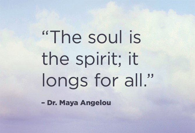 Dr. Maya Angelou quotation