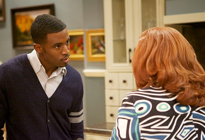 Gavin Houston as Jeffery Harrington and Renee Lawless as Katheryn Cryer