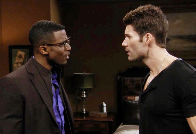 Gavin Houston and Aaron O'Connell