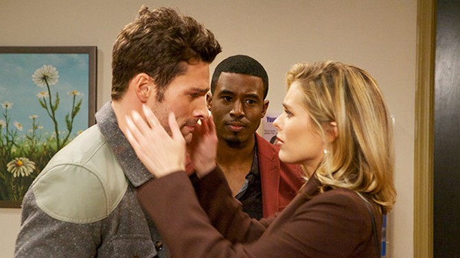 Aaron O'Connell, Gavin Houston and Susie Abromeit