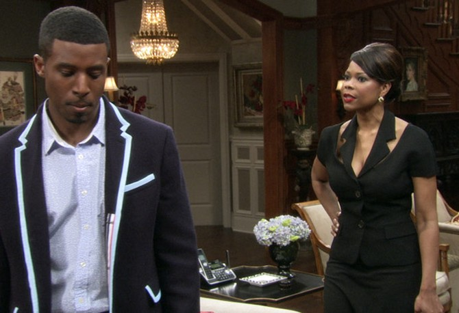 Gavin Houston and Angela Robinson