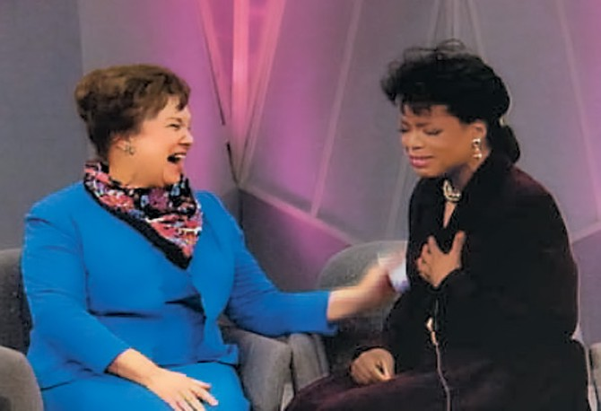 Oprah and Mrs. Mary Alice Duncan