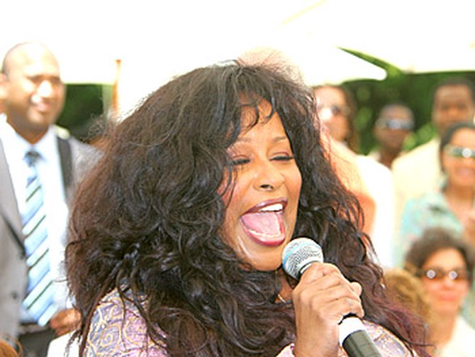 Chaka Khan. Copyright 2005, Harpo Productions, Inc./George Burns & Bob Davis. All rights reserved.