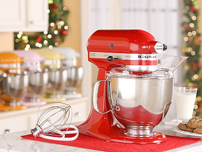 The Artisan Stand Mixer from KitchenAid Home Appliances