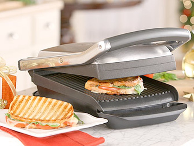 Breville Ikon Panini Press from Williams-Sonoma