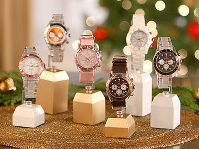 TOYWATCH Crystal and Colored Crystal Watches
