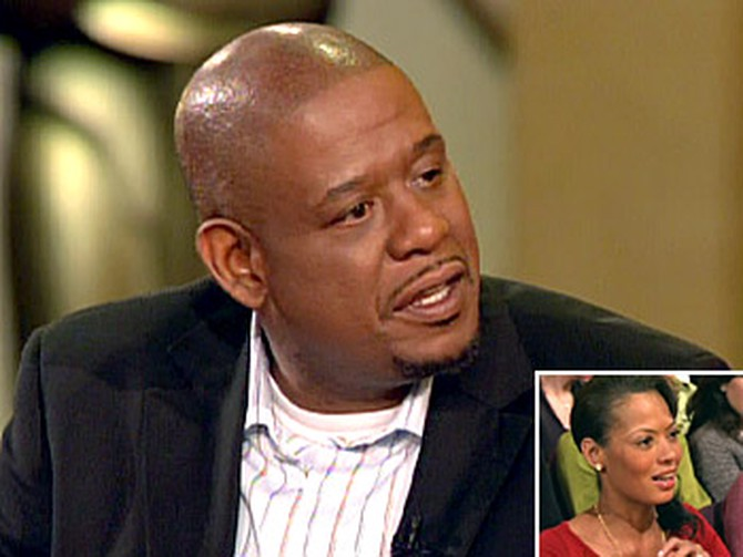 Forest Whitaker and his wife, Keisha (inset)