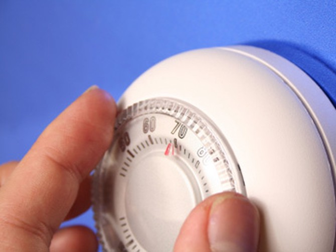 Keep your thermostat at a reasonable temperature.