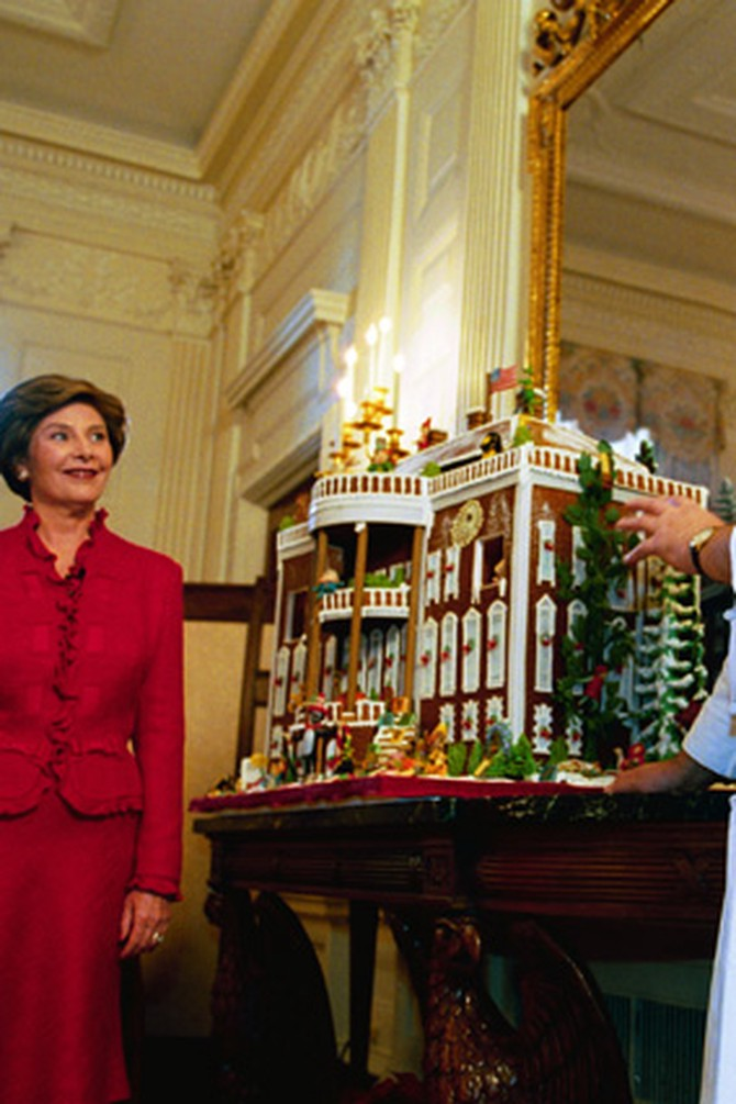 First Lady Laura Bush at the White House