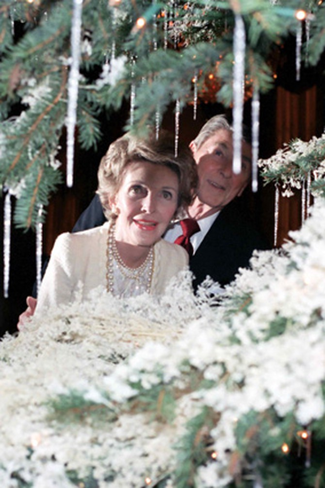 President Ronald Reagan and Nancy Reagan