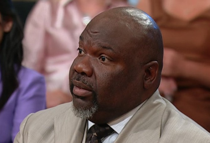 T.D. Jakes says forgiveness is not exoneration.