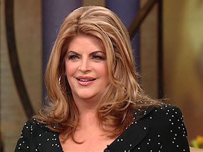 Kirstie Alley, before