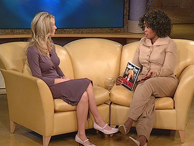 Amber Frey and Oprah
