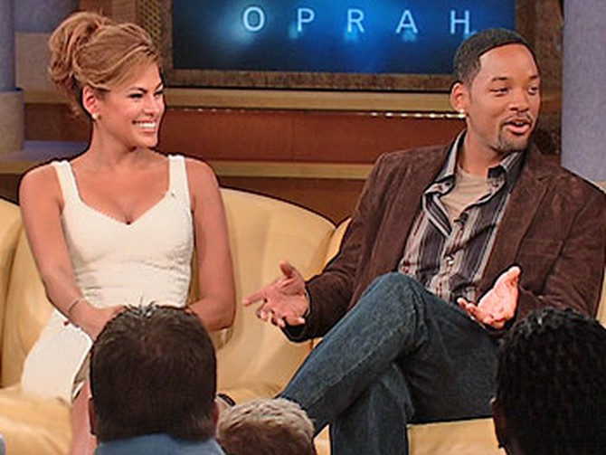 Eva Mendes and Will Smith