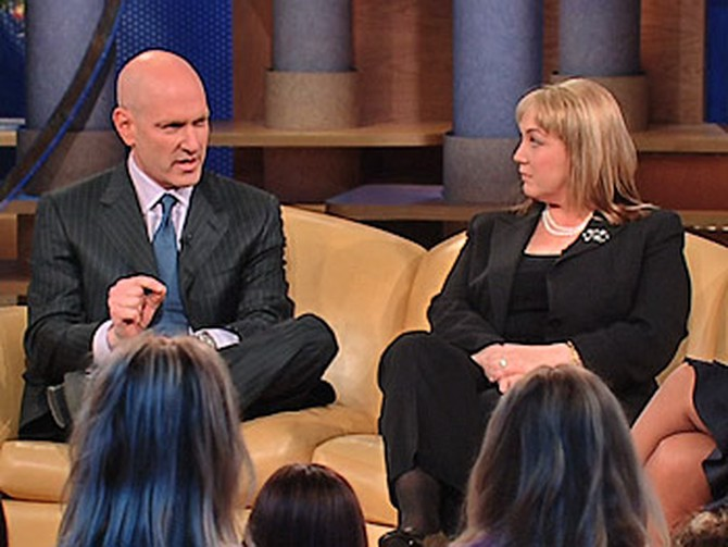 Dr Keith Ablow and Anne Bird