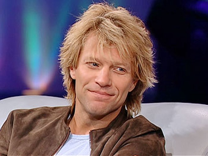 The gorgeous, generous Jon Bon Jovi