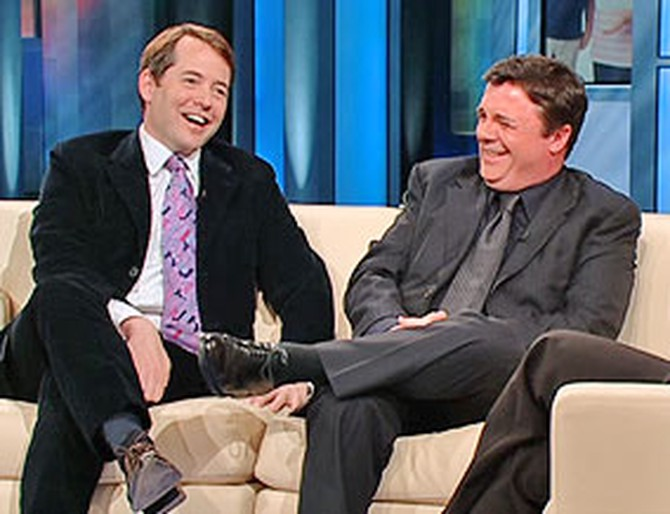 Matthew Broderick and Nathan Lane