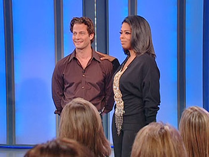 Nate and Oprah: The big donation