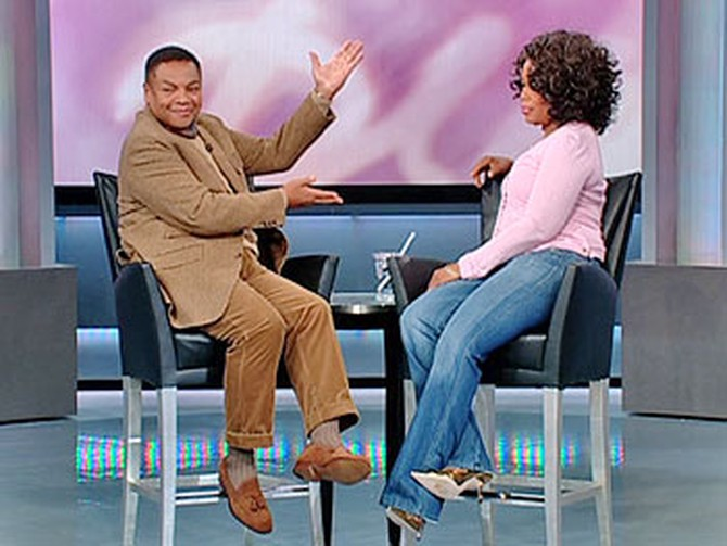 Oprah and Reggie Wells