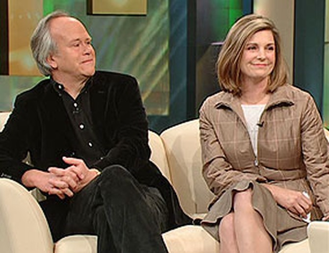 Dick Ebersol and Susan Saint James