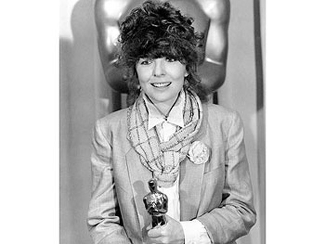 Diane Keaton won Oscar gold in 1977