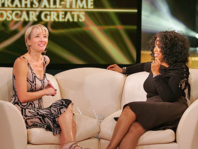 Emma Thompson and Oprah