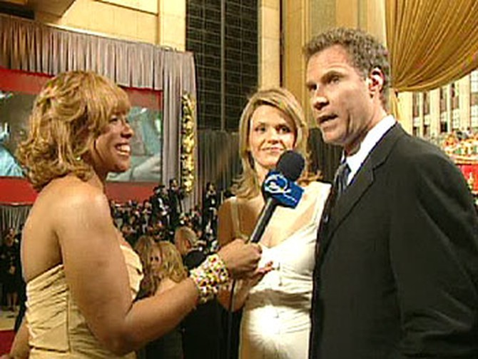 Viveca and Will Farrell