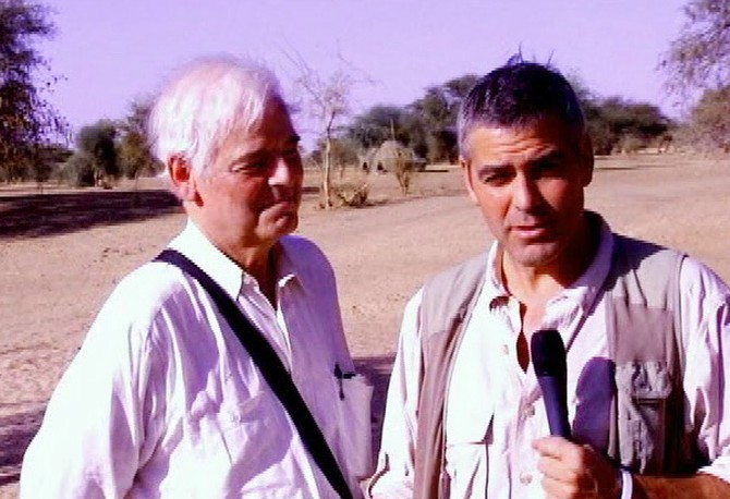 George and Nick in Sudan