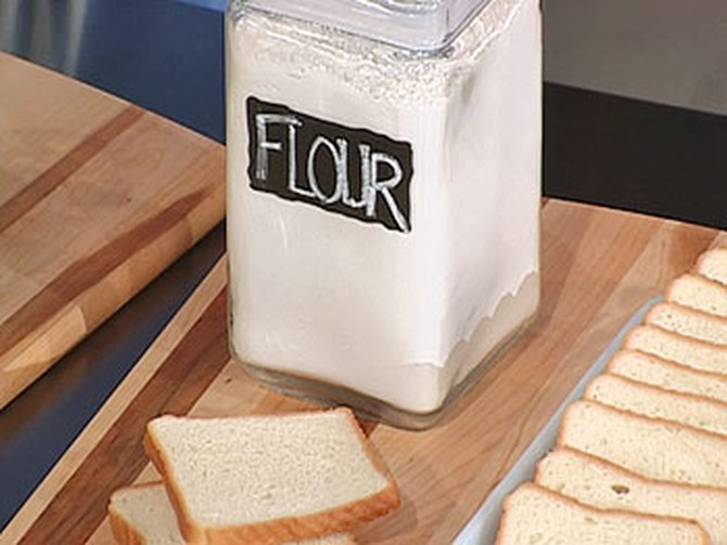Dr. Oz says to avoid enriched flour.