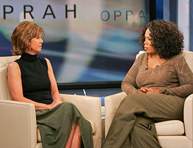 Lynne and Oprah