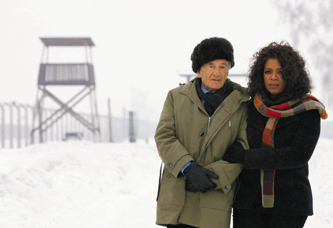 Oprah and Elie Wiesel