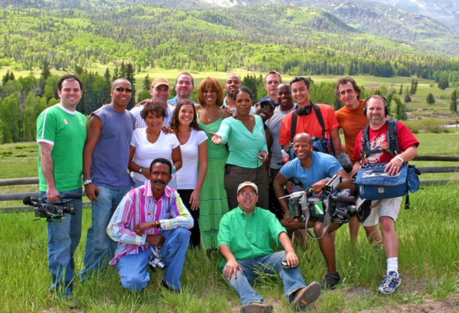 Oprah and Gayle's Big Adventure production team