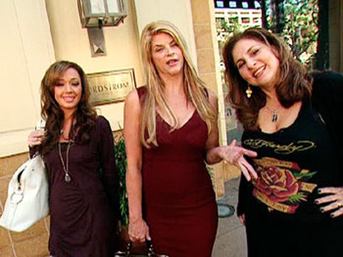 Kirstie Alley, Kathy Najimy and Leah Remini