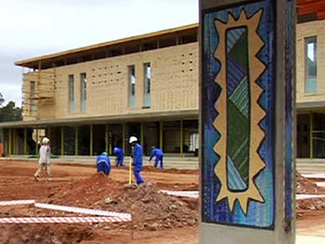 Construction of Oprah's Leadership Academy for Girls