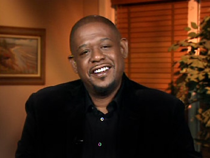 Forest Whitaker discusses his big win at the Golden Globes.
