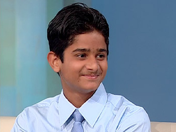 Akrit Jaswal, India's smartest teen