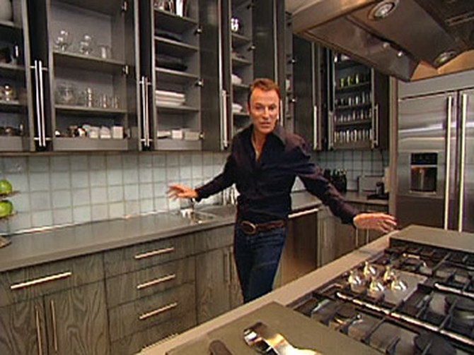 Colin Cowie inside his New York City kitchen.