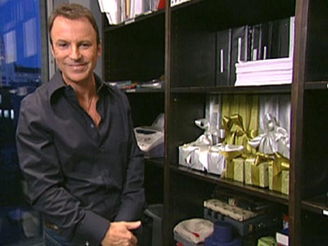 Colin Cowie's gifting area
