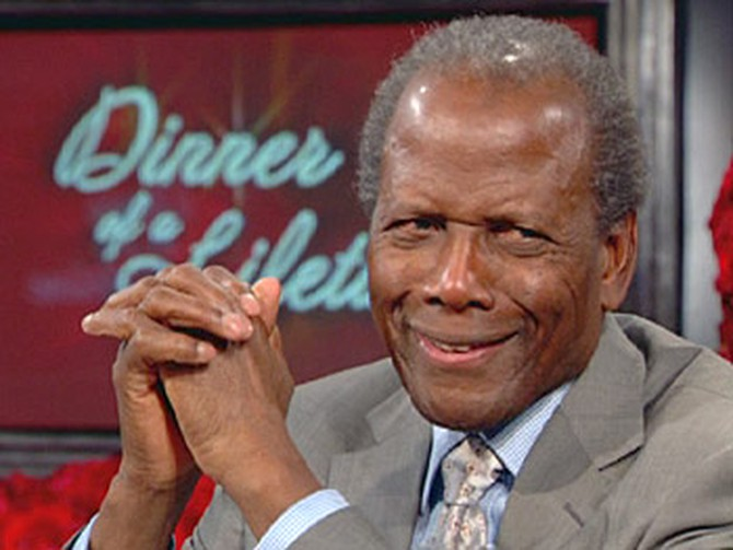 Sidney Poitier discusses fate and luck.