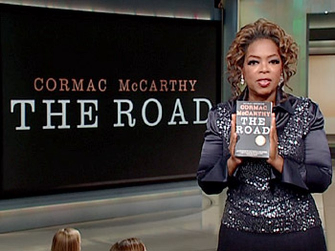 Oprah chooses The Road by Cormac McCarthy for her book club