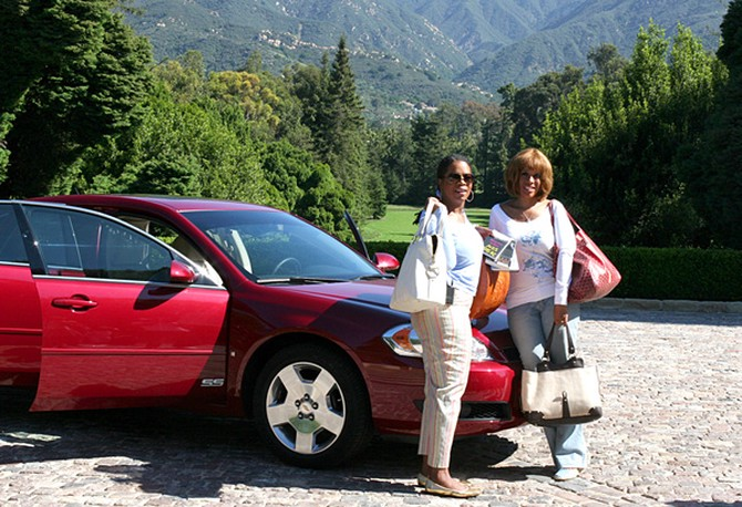 Oprah and Gayle on their road trip
