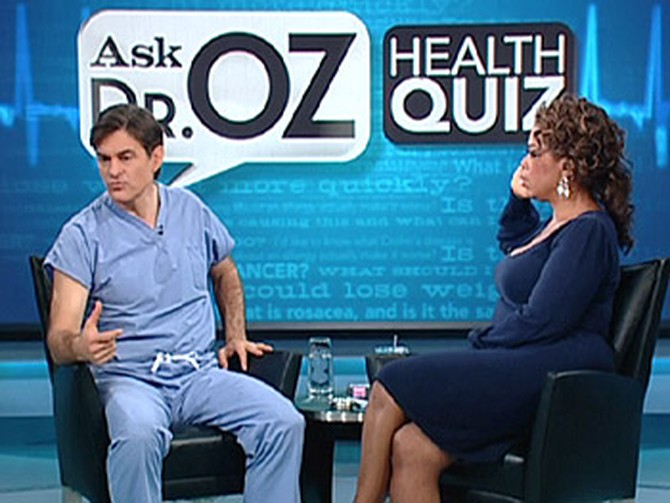 Dr. Oz and Oprah talk about impotence.