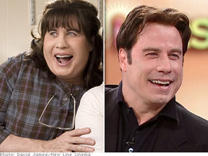 John Travolta talks about his role as Edna Turnblad