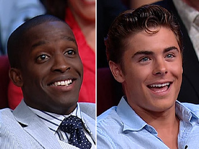 Elijah Kelley and Zac Efro