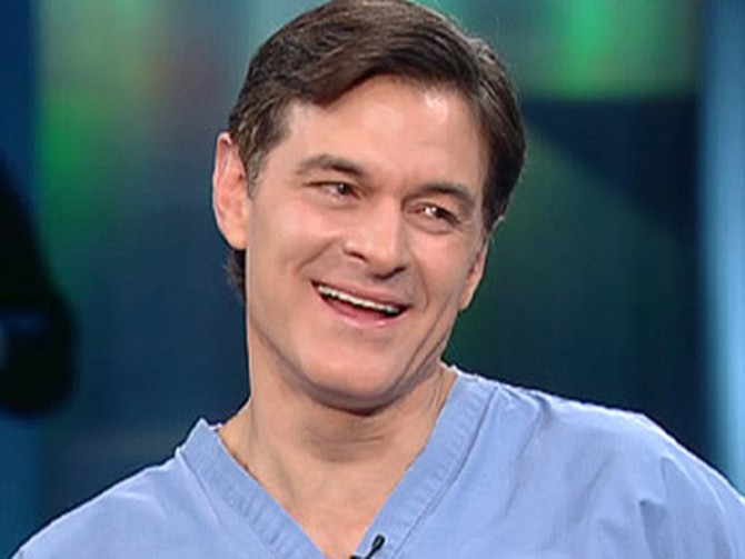 Dr. Oz says prevention is the best cure for a hangover.