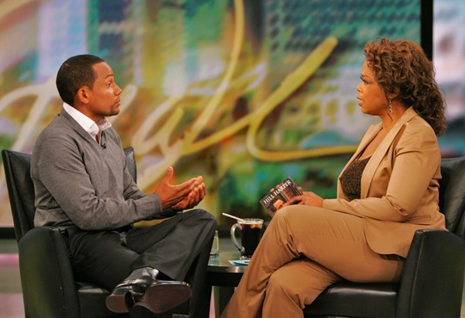 Oprah and Hill Harper discuss America's youth.